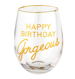 Lyla's: Clothing, Decor & More Birthday Gorgeous Wine Glass