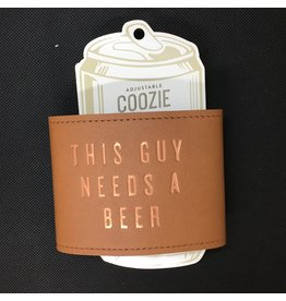 Lyla's: Clothing, Decor & More Need A Beer Leather Koozie