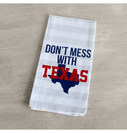 Lyla's: Clothing, Decor & More Don't Mess With Texas Tea Towel