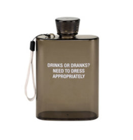 Lyla's: Clothing, Decor & More Drinks or Dranks? Flask