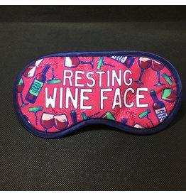 Lyla's: Clothing, Decor & More Resting Wine Face Sleep Mask