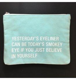 Lyla's: Clothing, Decor & More Yesterday's Eyeliner Cosmetic Bag