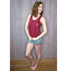 Lyla's: Clothing, Decor & More Wine Pajama Set