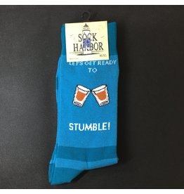 Lyla's: Clothing, Decor & More Let's Get Ready to Stumble Mens Socks
