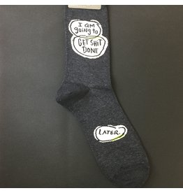 Lyla's: Clothing, Decor & More I am Going to Get S*** Done Mens Socks