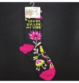 Lyla's: Clothing, Decor & More You're Killin' My Vibe Ladies Socks