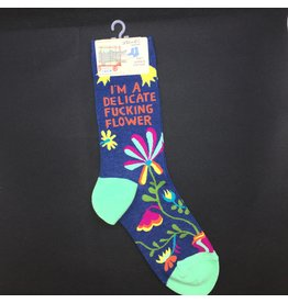 Lyla's: Clothing, Decor & More I'm A Delicate Ladies Socks
