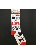 Lyla's: Clothing, Decor & More All You Need Is Love and A Dog Socks