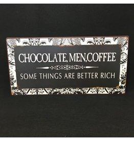 Lyla's: Clothing, Decor & More Chocolate, Men, Coffee Sign