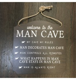 Lyla's: Clothing, Decor & More Man Cave Wall Sign