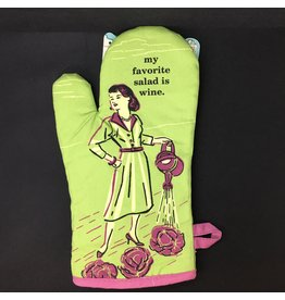 Lyla's: Clothing, Decor & More My Favorite Salad is Wine Oven Mitt