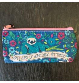 Lyla's: Clothing, Decor & More Sit There Sloth Brush Bag