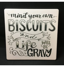 Lyla's: Clothing, Decor & More Mind Your Biscuits Trivet