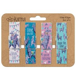 Lyla's: Clothing, Decor & More Chip Clips Llama