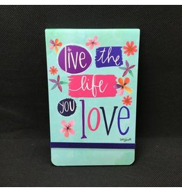 Lyla's: Clothing, Decor & More Live the Life You Love Purse Notepad