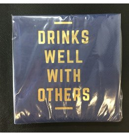 Lyla's: Clothing, Decor & More Drinks Well With Others Napkins