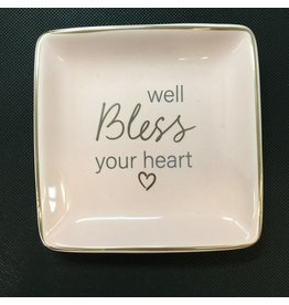 Lyla's: Clothing, Decor & More Bless Your Heart Trinket Tray