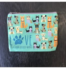 Lyla's: Clothing, Decor & More Love Is A Four Legged Word Bag