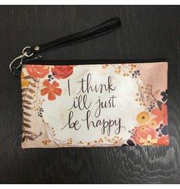Lyla's: Clothing, Decor & More I Think I'll Just Be Happy Faith Bag
