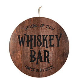 Lyla's: Clothing, Decor & More Whiskey Bar Bar Sign