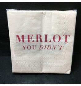 Lyla's: Clothing, Decor & More Merlot You Didn't Napkins