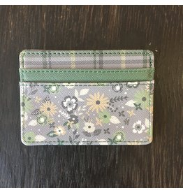 Lyla's: Clothing, Decor & More Card Holder: Plaid Floral