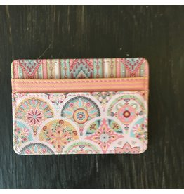 Lyla's: Clothing, Decor & More Card Holder: Pink Medallion