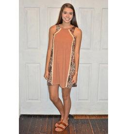 Lyla's: Clothing, Decor & More Say Goodbye Contrast Bow Dress