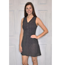 Lyla's: Clothing, Decor & More In A Hurry Dotted Black Dress