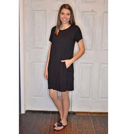 Lyla's: Clothing, Decor & More Weekend Fun Dress: Black