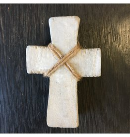 Lyla's: Clothing, Decor & More Wood Cross: Grey