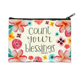 Lyla's: Clothing, Decor & More Count Your Blessings Coin Purse
