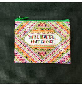 Lyla's: Clothing, Decor & More You're Beautiful Dont Change Coin Purse