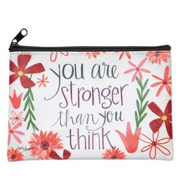 Lyla's: Clothing, Decor & More You Are Stronger Than You Think Coin Purse