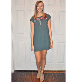 Lyla's: Clothing, Decor & More Best Dressed In Plano Embroidered Dress