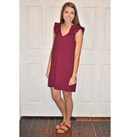Lyla's: Clothing, Decor & More Bright Future Burgundy Dress