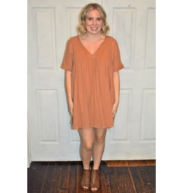 Lyla's: Clothing, Decor & More Feeling Free Babydoll Dress: Ginger