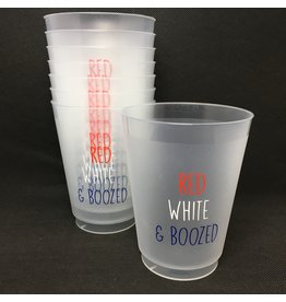 Lyla's: Clothing, Decor & More Red, White and Boozed Frost Cups