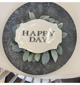 Pomp & Prose Happy Day Appetizer Plate PPT