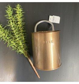 Pomp & Prose Copper litre Bucket PPT