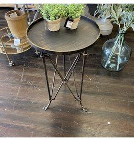 Pomp & Prose Gold Brush Metal Industrial Table PPT