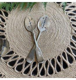 "Pomp & Prose ""Parsley "" Vintage Spoon Plant Marker PPT"