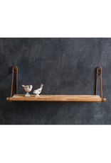 Pomp & Prose Wall Mounted Wood Shelf PPT