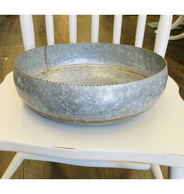 Pomp & Prose Galvanized Bowl PPT