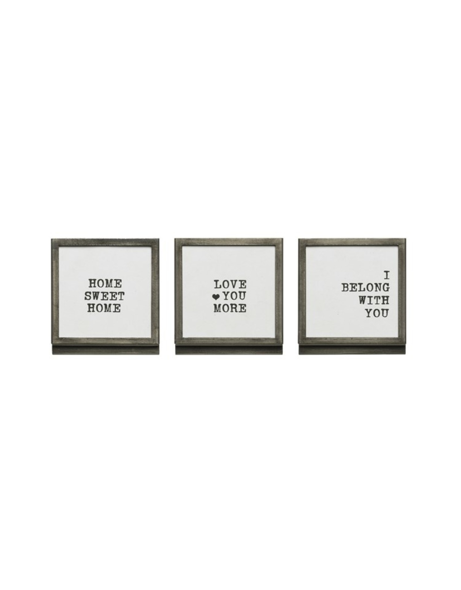 "Pomp & Prose Tiny Frame ""Love You More"" PPT"