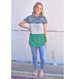 Lyla's: Clothing, Decor & More Go Wild Colorblock Top