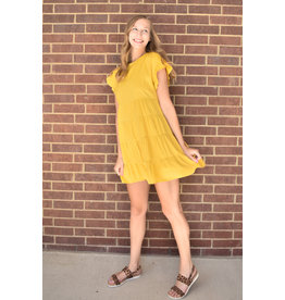 Lyla's: Clothing, Decor & More Marigold Ruffle Dress