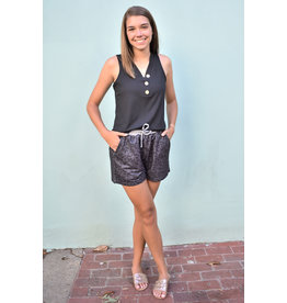 Lyla's: Clothing, Decor & More Gray Leopard Shorts