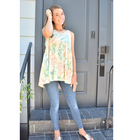 Lyla's: Clothing, Decor & More Brace Yourself Print Top