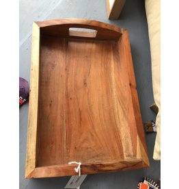 Pomp & Prose Wood Tray with Handles PPT